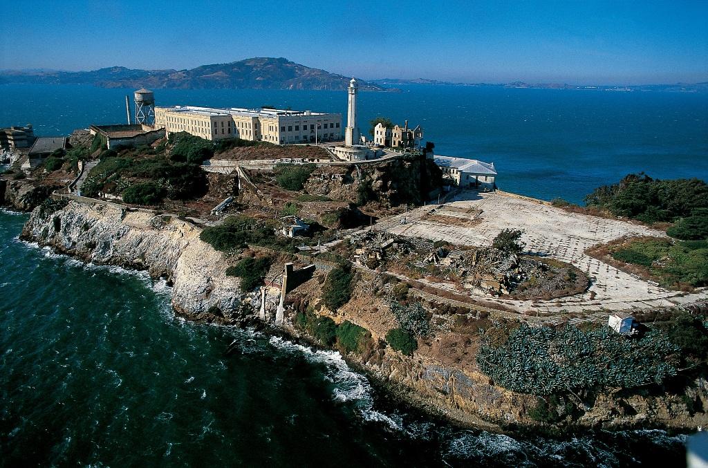 Остров Алькатраc в Сан-Франциско