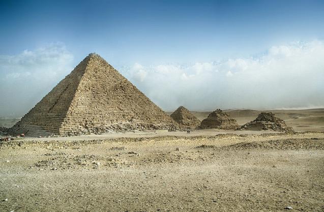 Пирамида Микерина, Гиза