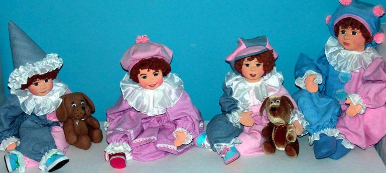 Экспонаты музея кукол