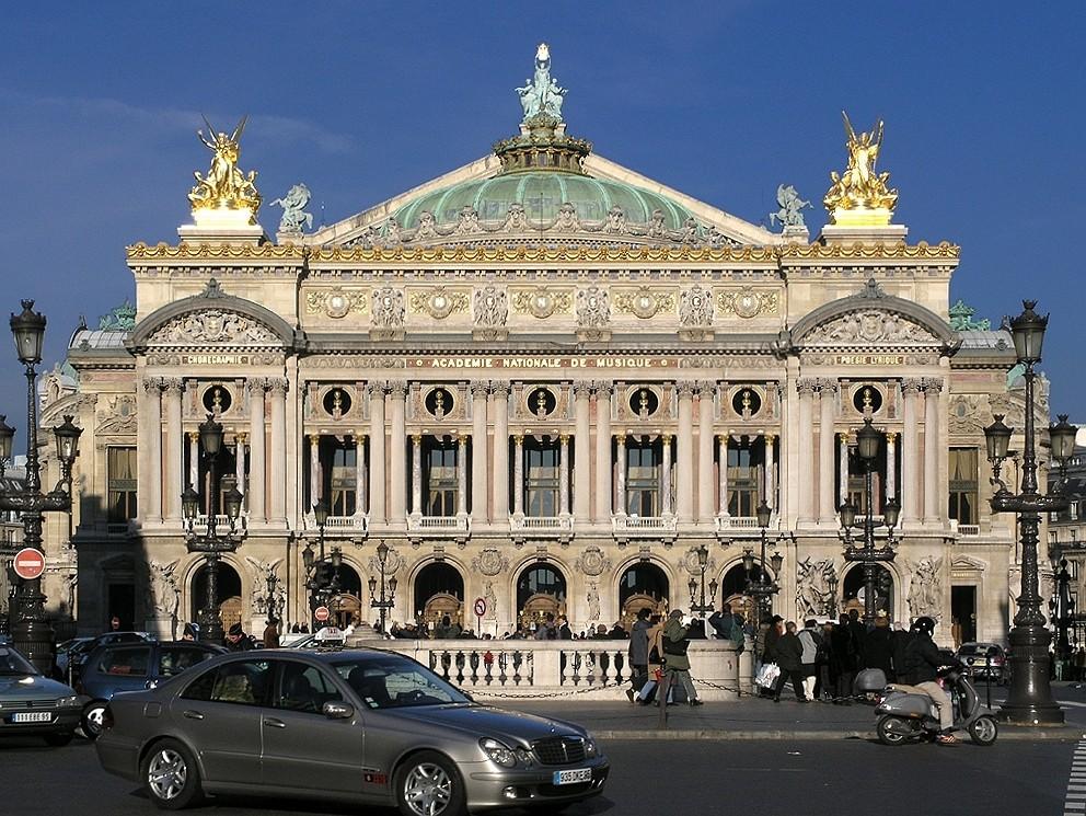 Сценическое искусство и театры Парижа