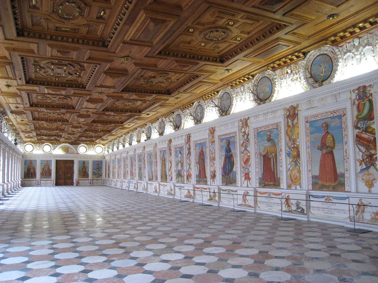 Замок Амбрас, Испанский зал