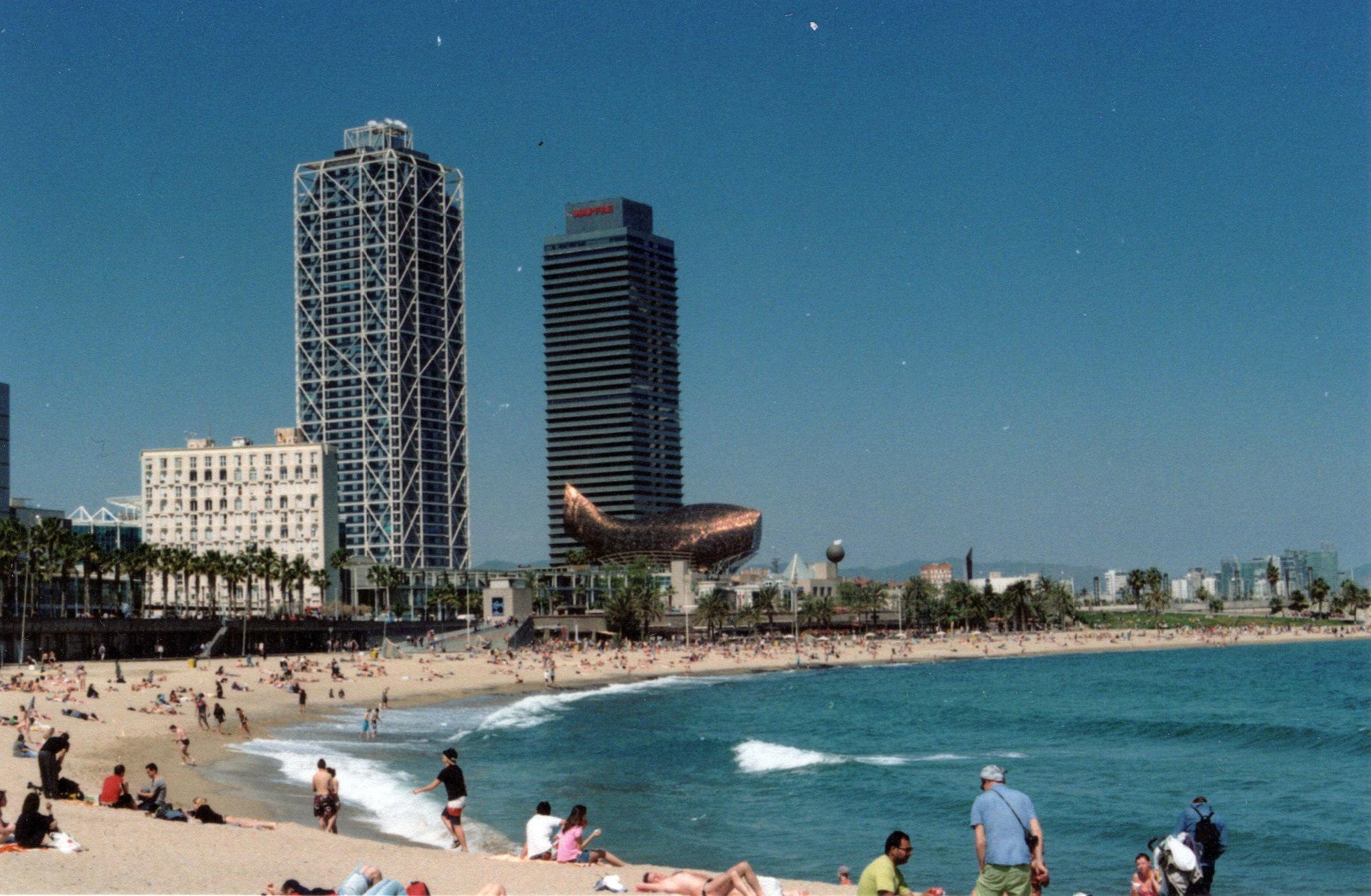 Пляж барселонетта достопримечательности с фото