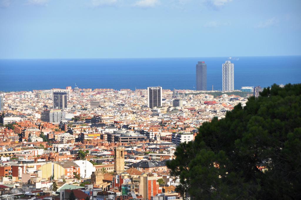 Вид на район Эшампле, Барселона