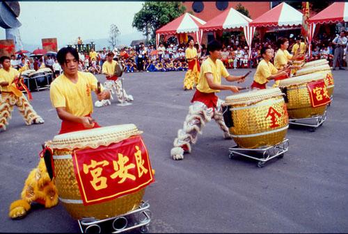 Игра на больших барабанах, Тайвань.jpg