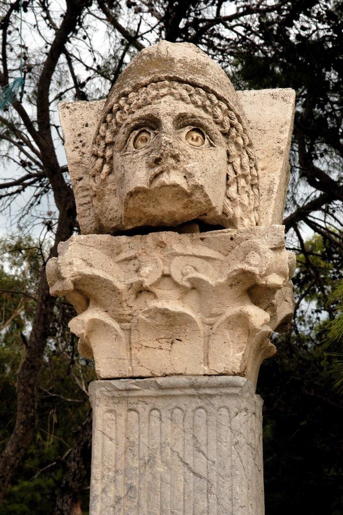 Экспонат музея в Карфагене