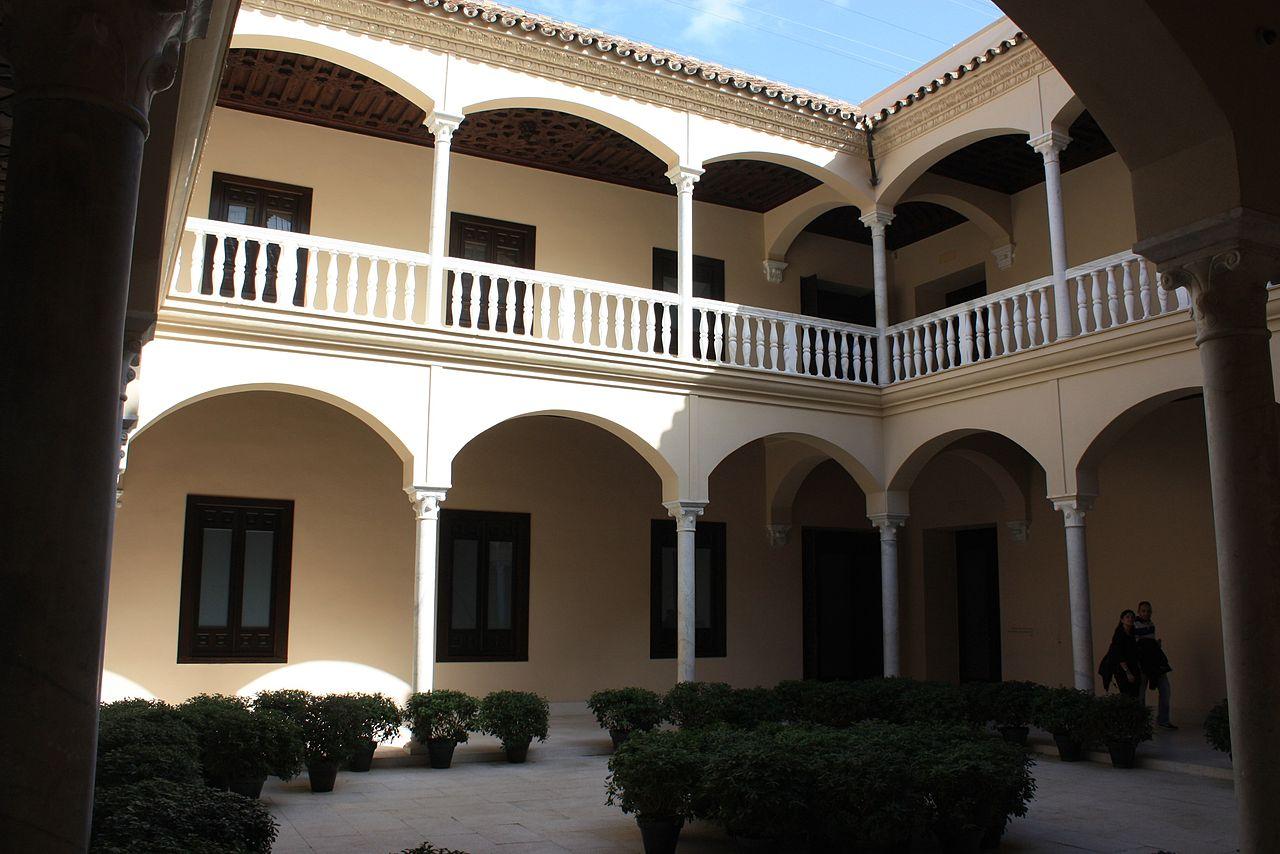 Музей Пикассо в Малаге, внутренняя галерея