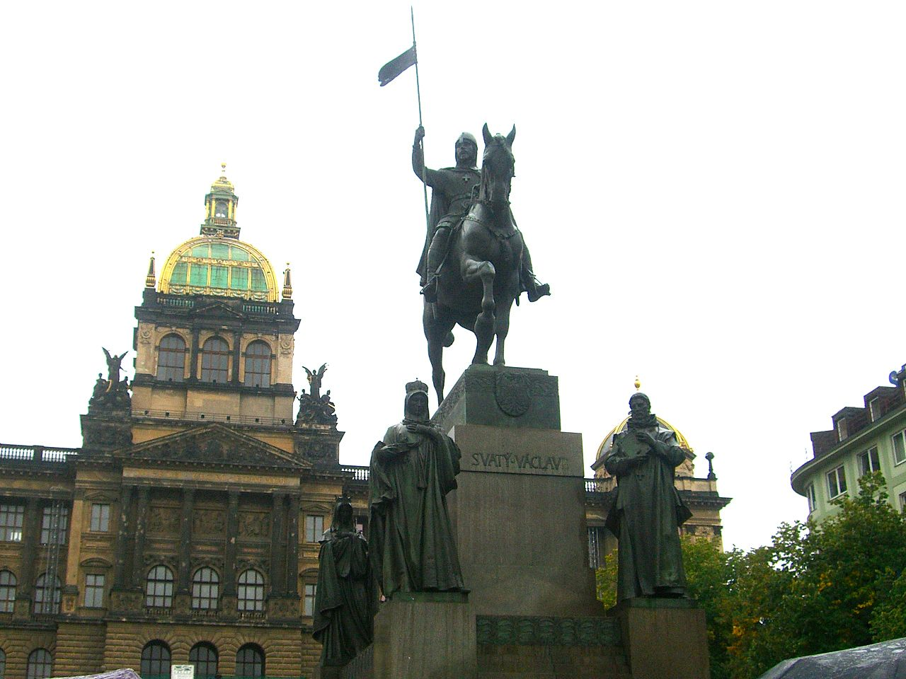 Памятник Святому Вацлаву, Прага