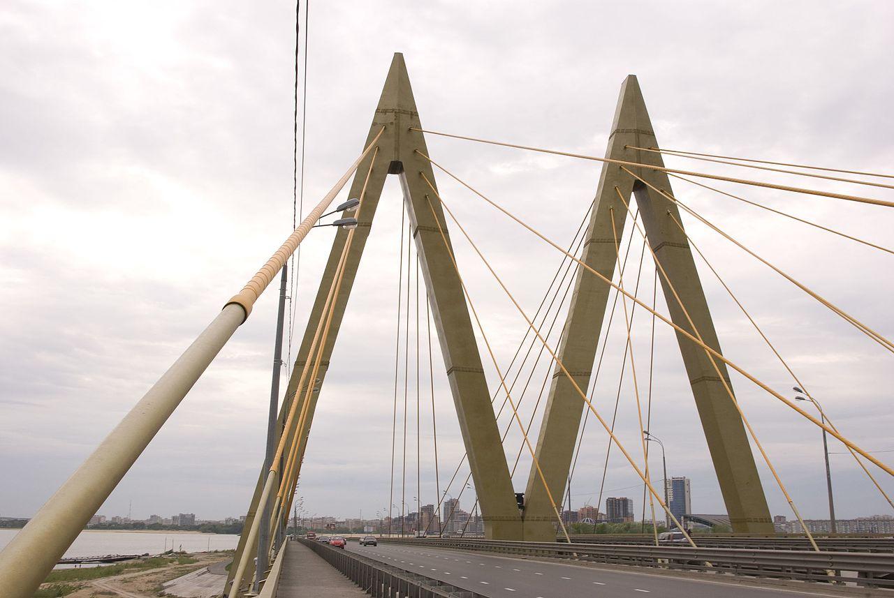 Пилон моста Миллениум, Казань