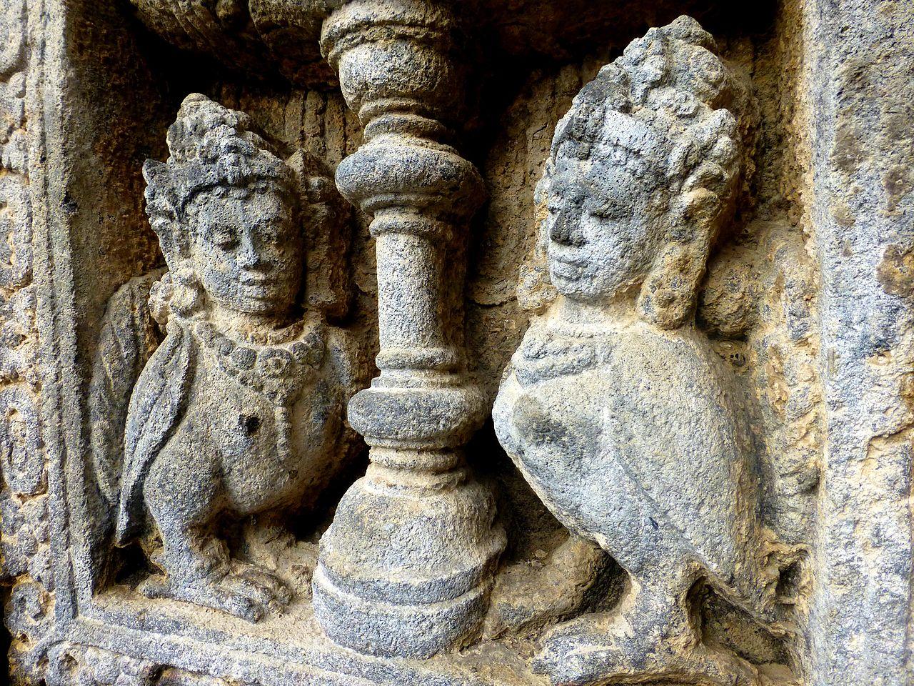 Прамбанан, храмовые скульптуры