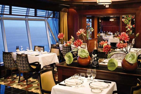 Ресторан на круизном лайнере