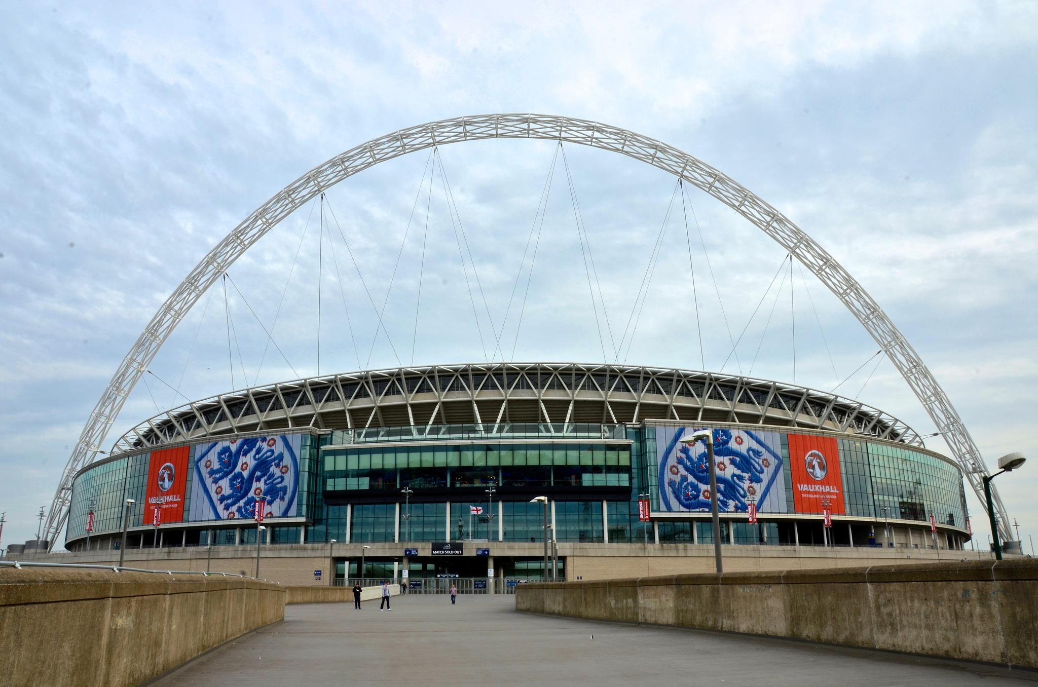 Вход на Стадион Уэмбли, Лондон