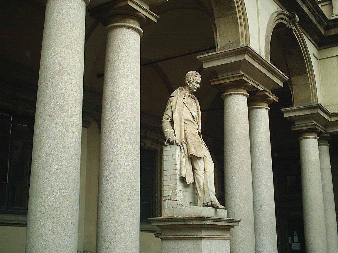 Галерея Брера, одна из статуй