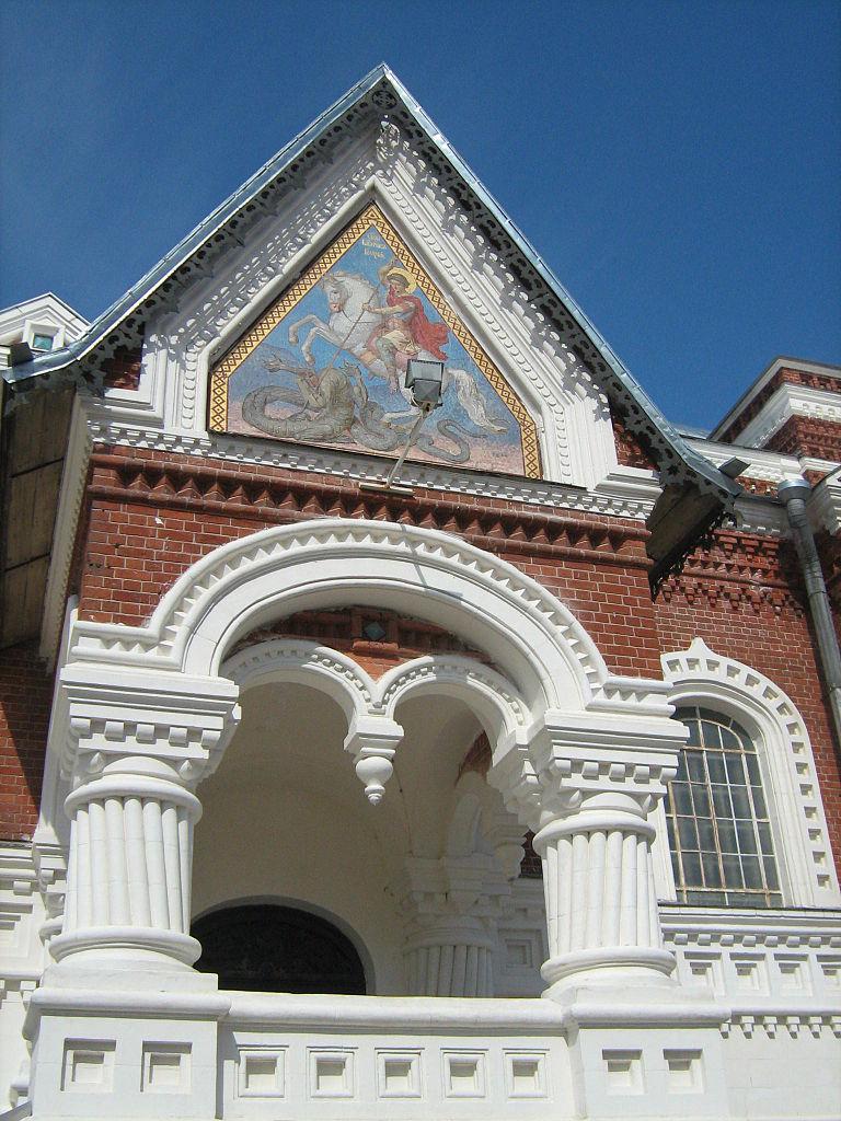 Георгиевский собор в Гусь-Хрустальном, крыльцо
