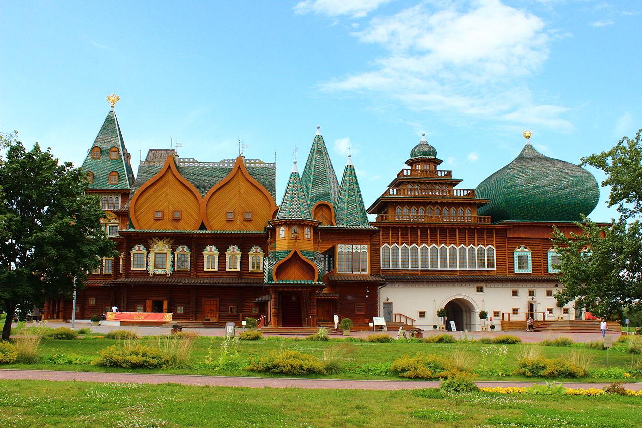 Коломенский дворец, панорамный вид