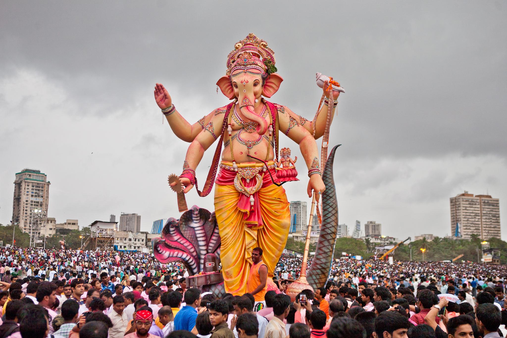 Праздник Ganesh Visarjan