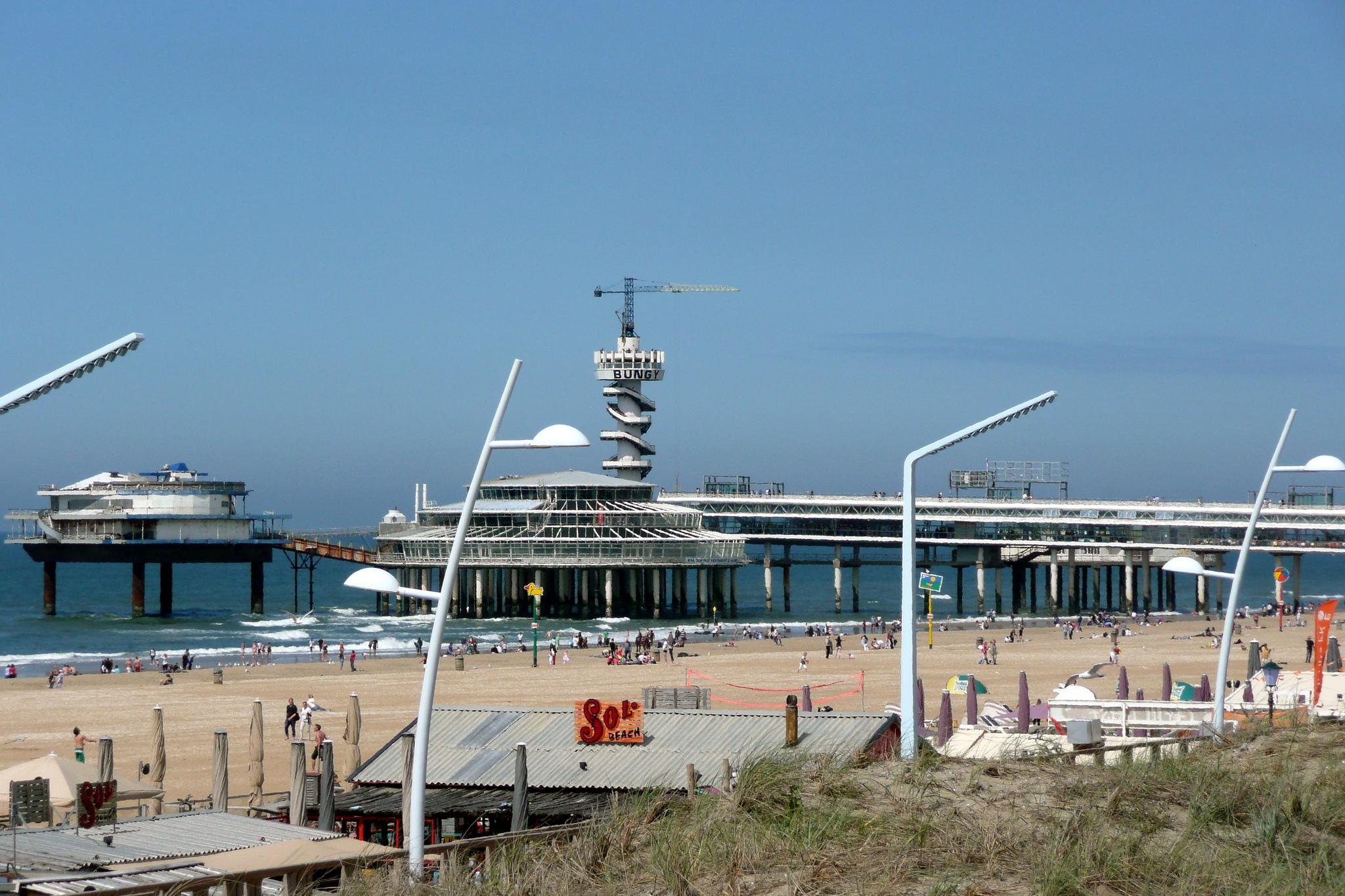 Схевенинген, пляж и пирс