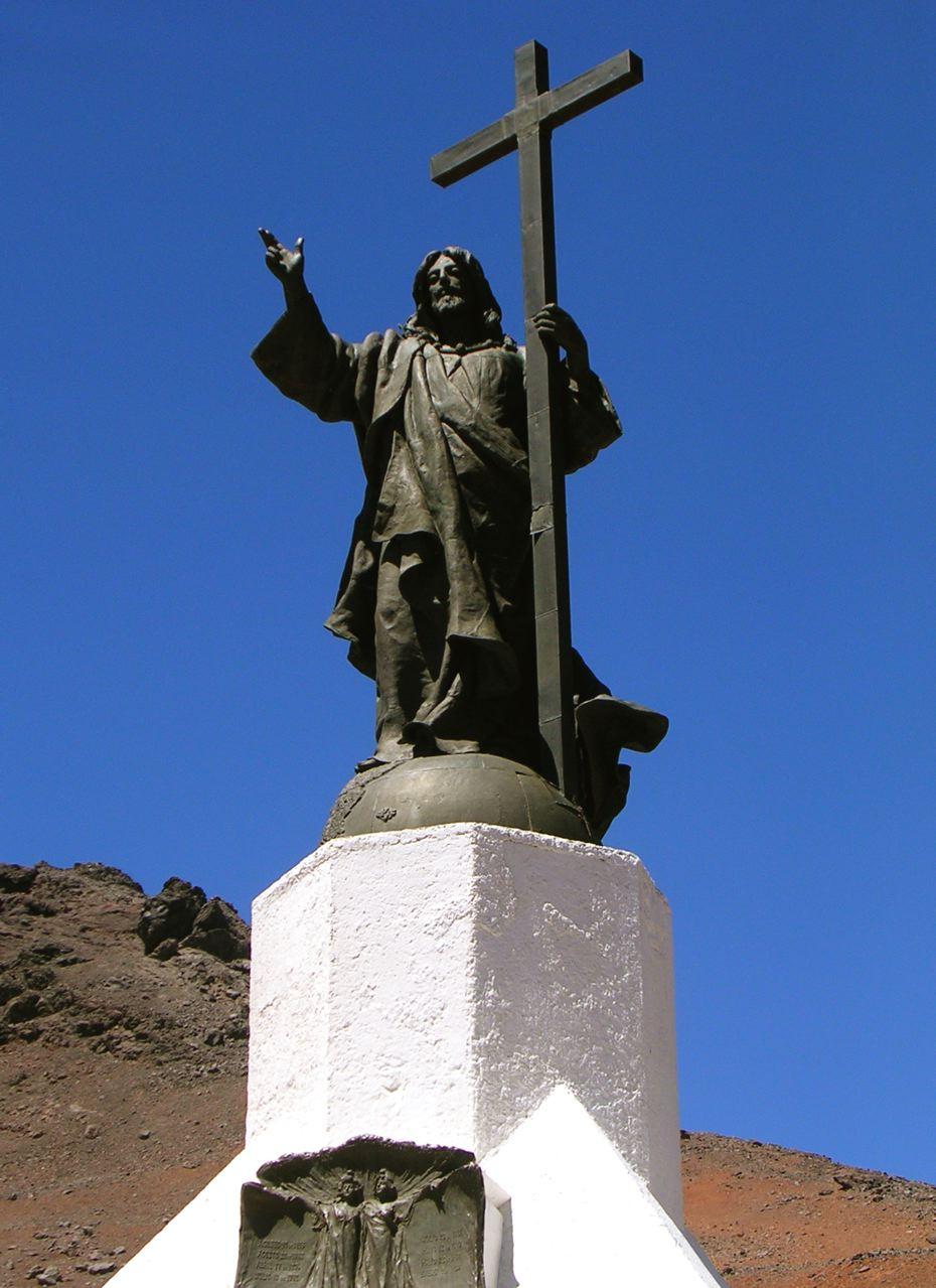 Андский Христос на перевале Бермехо, Анды