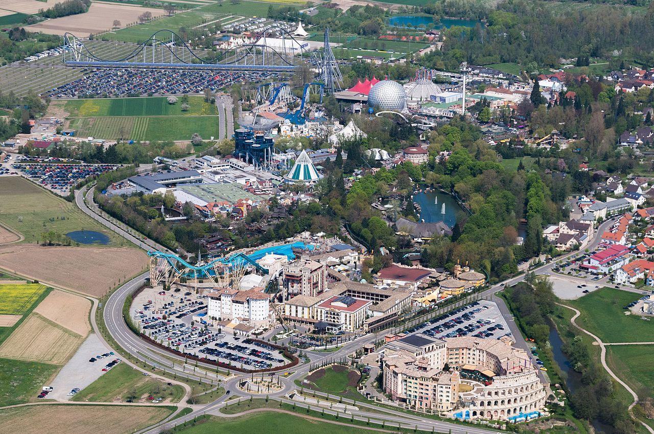 Европа-парк, вид с воздуха