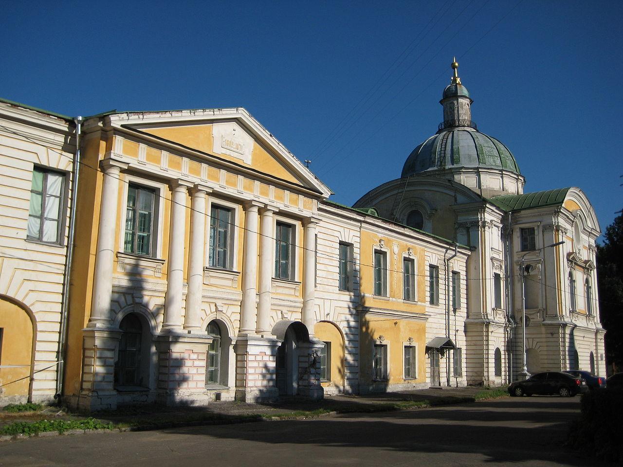 Императорский путевой дворец в Твери, главный корпус