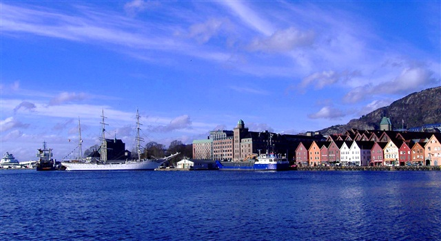 Красоты Бергена, Норвегия