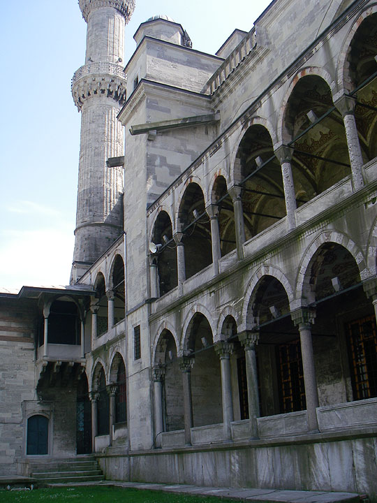 Стены Голубой мечети, Стамбул