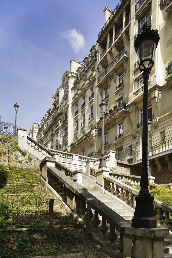 Район Passy в Париже