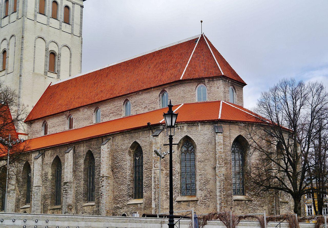 Церковь святого Николая, фасад