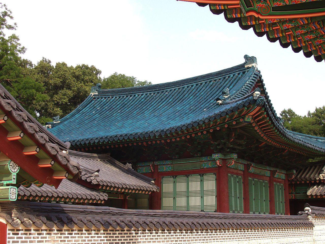 Дворец Чхандоккун в Сеуле, зал Сонджонджон