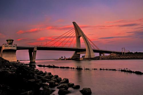 Мост в заливе Пэн, Тайвань