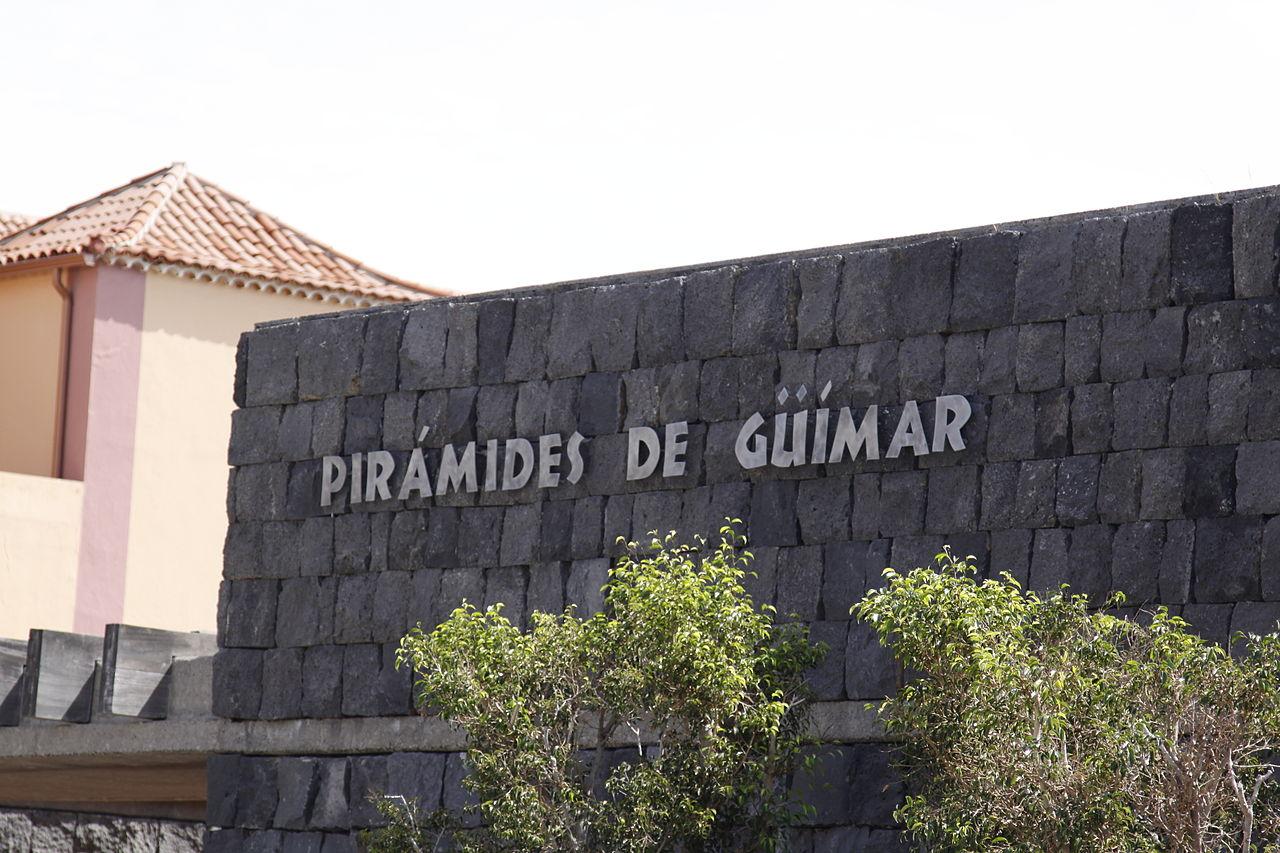 Вход в музей, посвященный пирамидам Гуимар