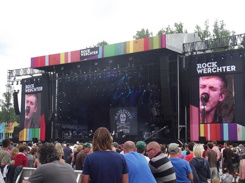 Музыкальный рок фестиваль