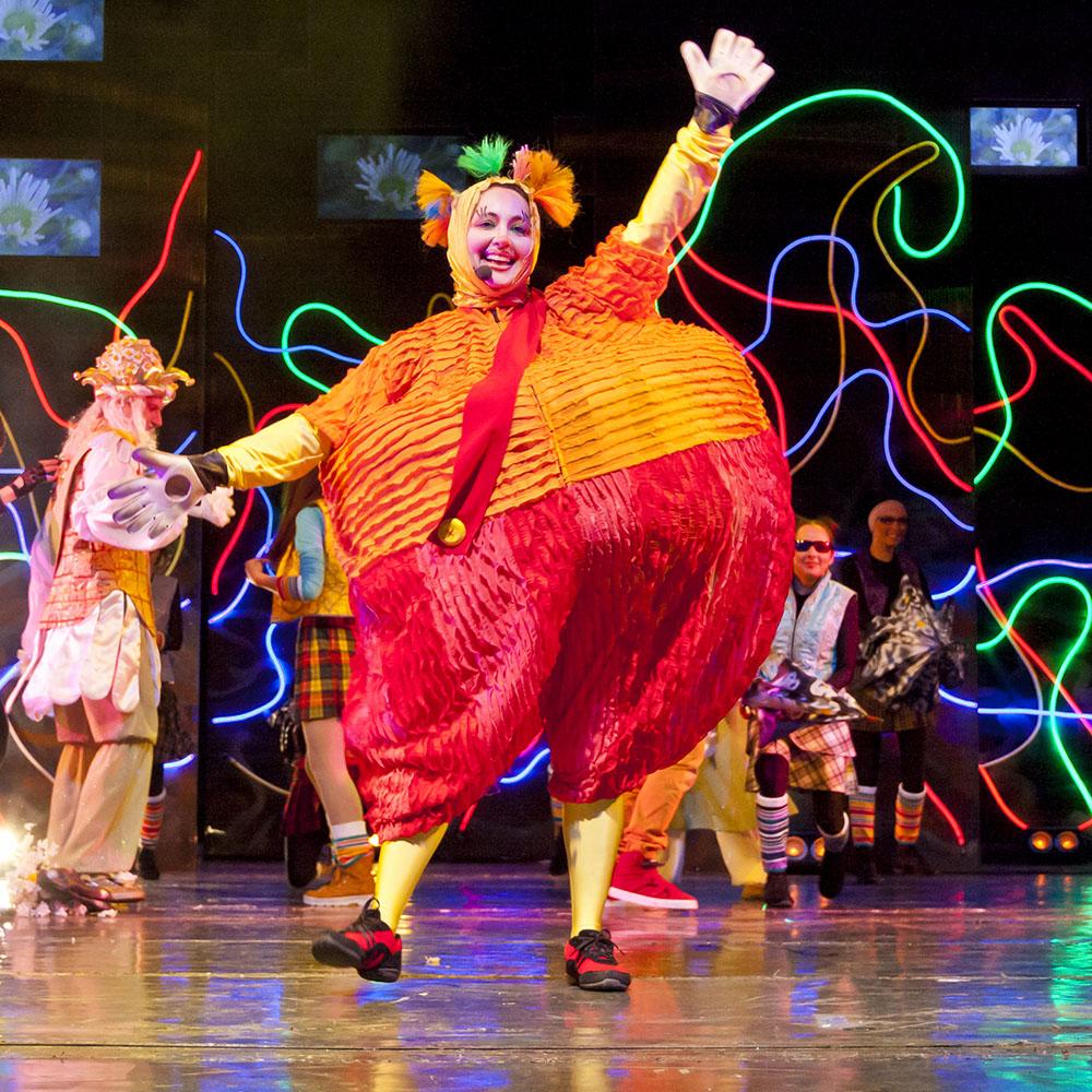 На сцене Татарского академического театра имени Галиасгара Камала