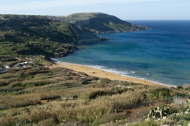 Пляж Рамла Хамра, Надур, Гозо.jpg