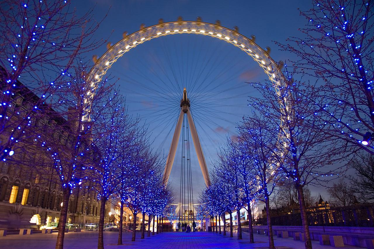 Рождество, Лондонский глаз