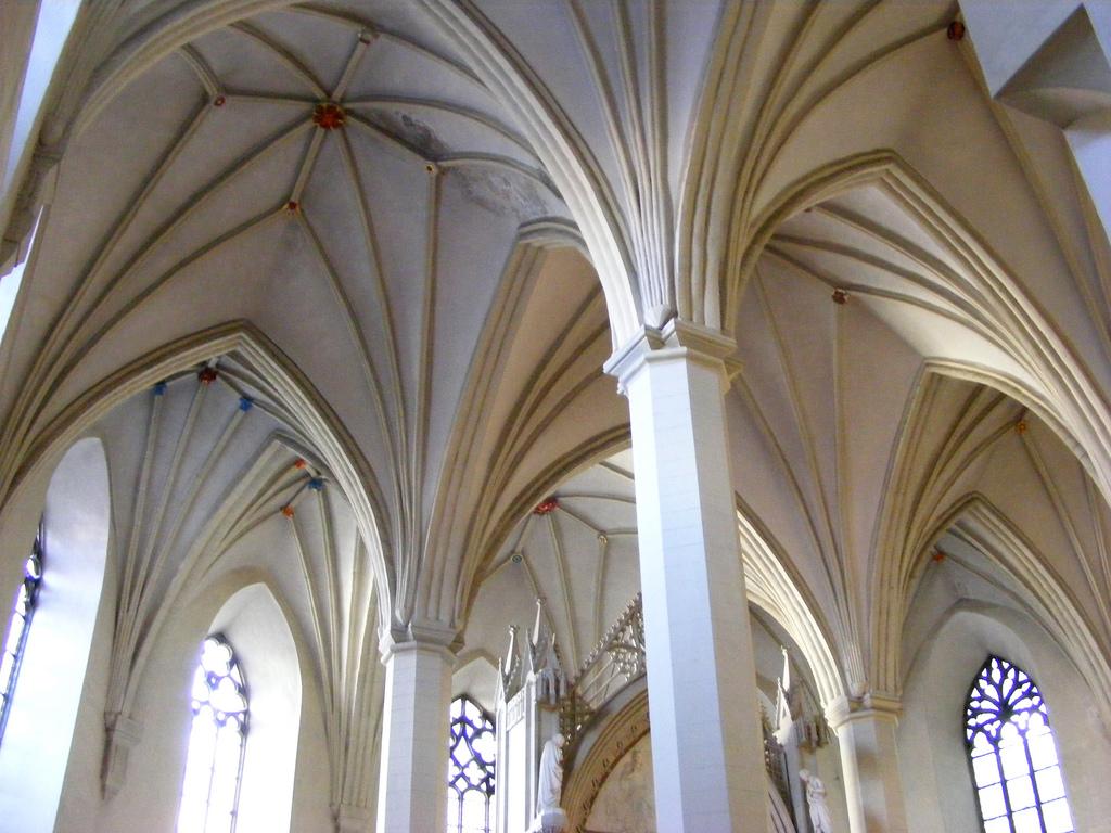 Церковь Олевисте, свод