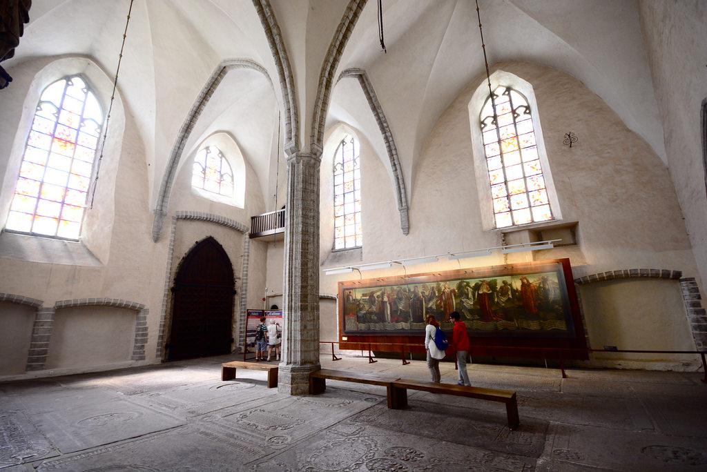 Церковь святого Николая, интерьер