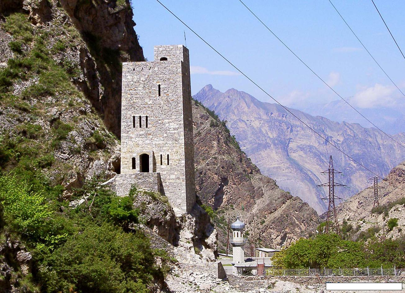 Гимринская Башня, Унцукульский район Дагестана