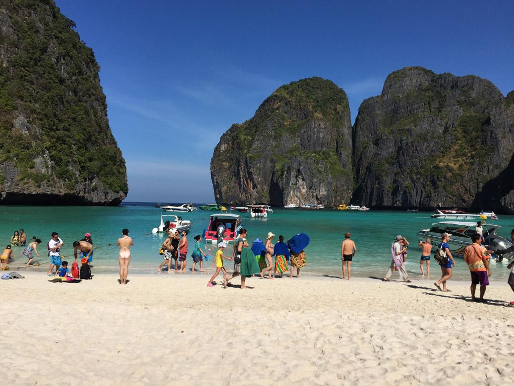 пхи пхи таиланд фото туристов воздыхателях ходила половина