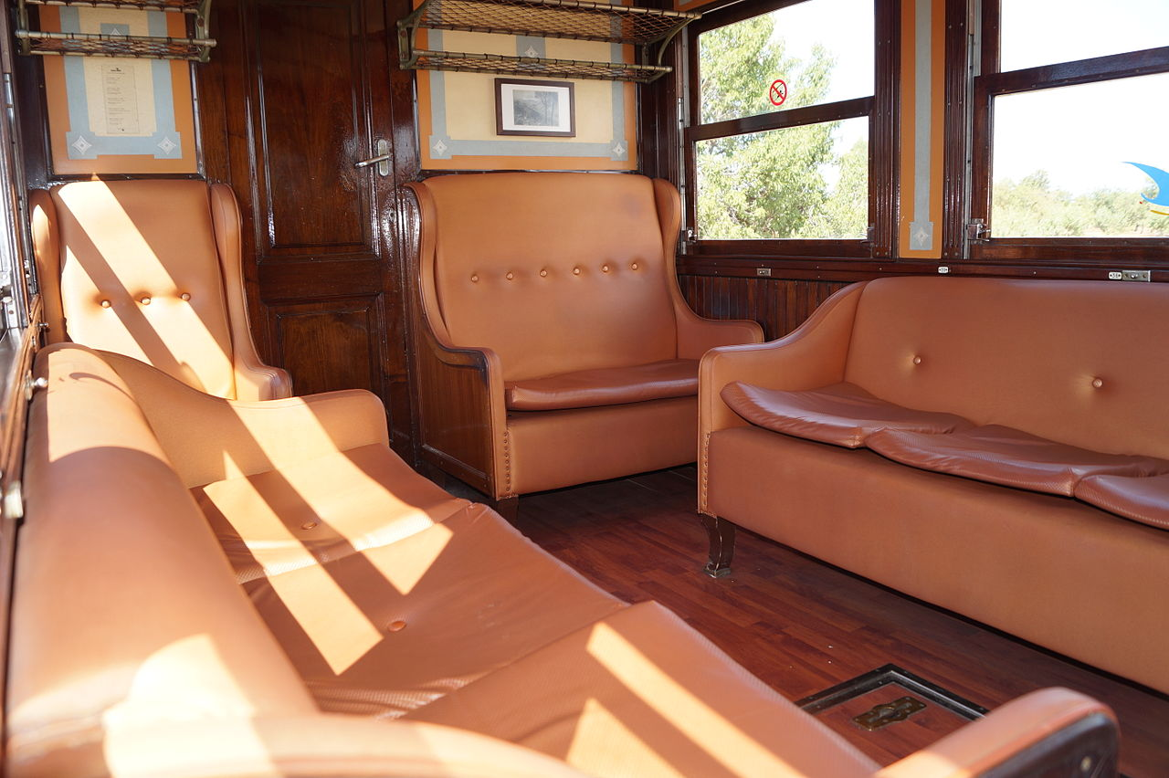 Поезд Пальма-де-Майорка — Сольер, купе первого класса