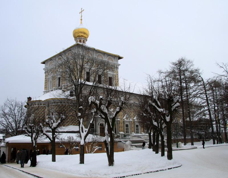 Церковь на территории Троице-Сергиевой лавры, Сергиев Посад, Россия