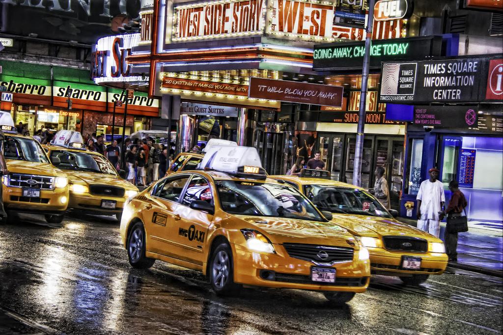 Дорога на Таймс-Сквер, Нью-Йорк