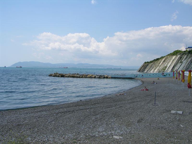 сегодня пляж пансионата кабардинка фото время
