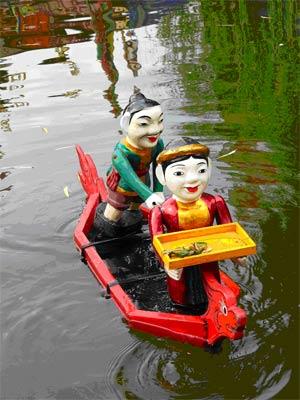 Представление в кукольном театре, Вьетнам