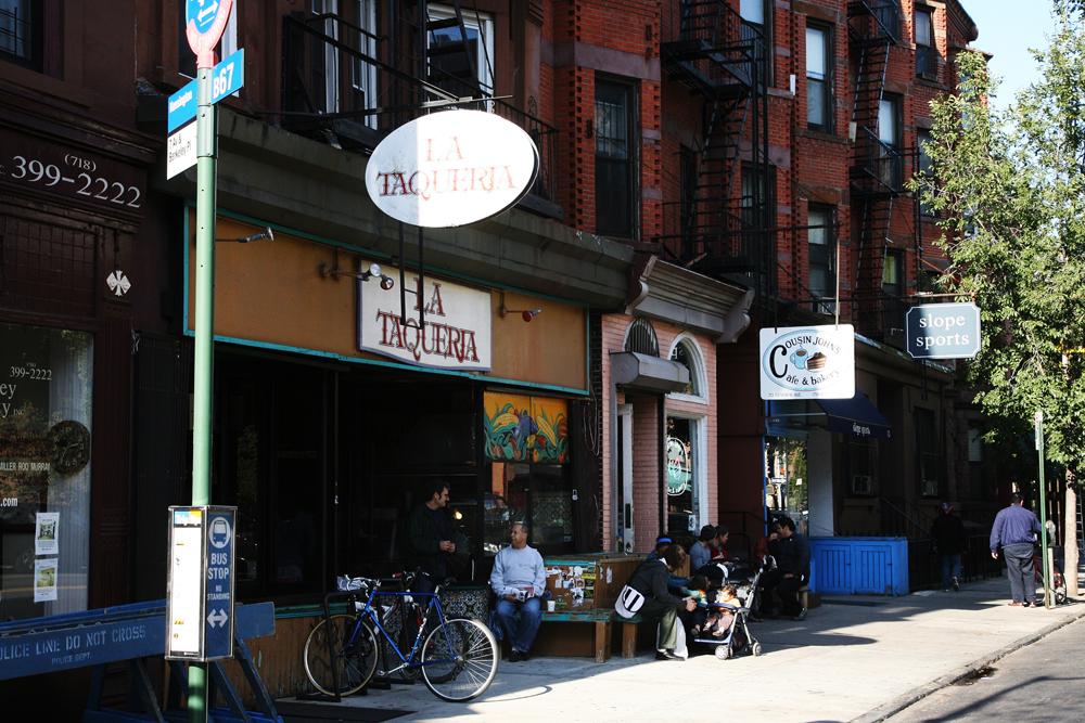 Уличные кафешки Бруклина, Нью-Йорк