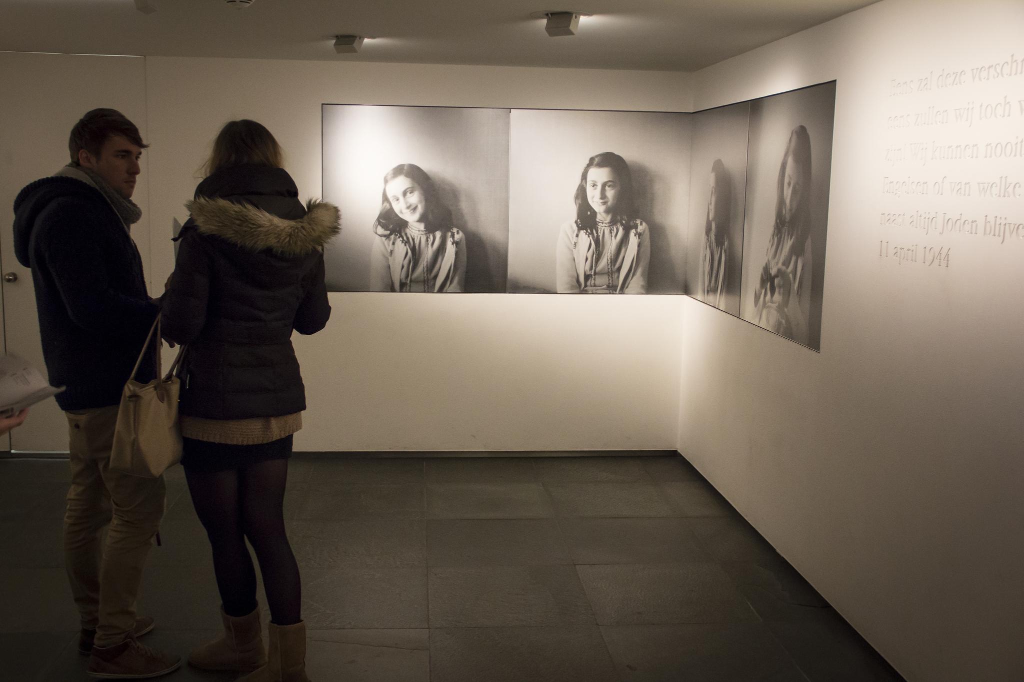 Фотографии Анны, Дом Анны Франк, Амстердам