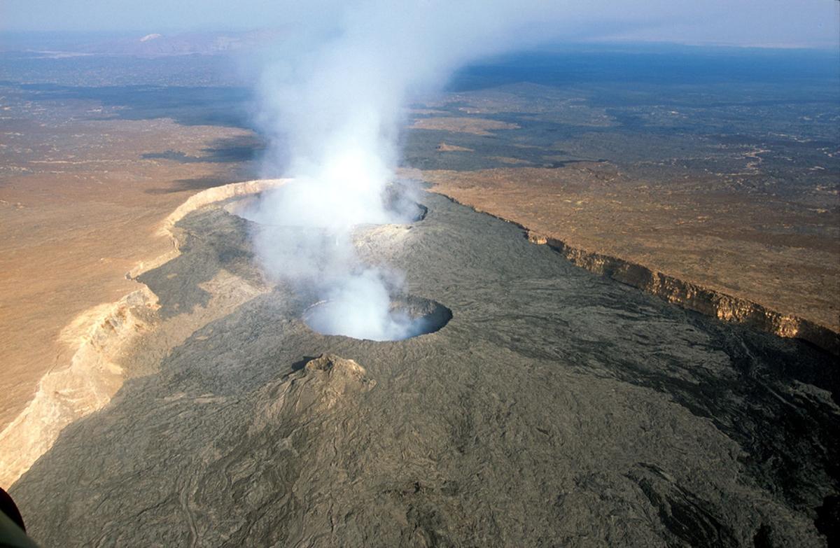 Вулкан Эрта Але, Эфиопия