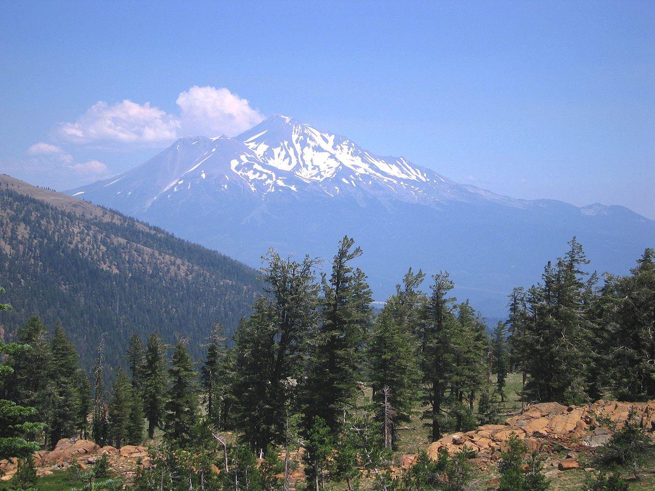 Гора Шаста, Калифорния