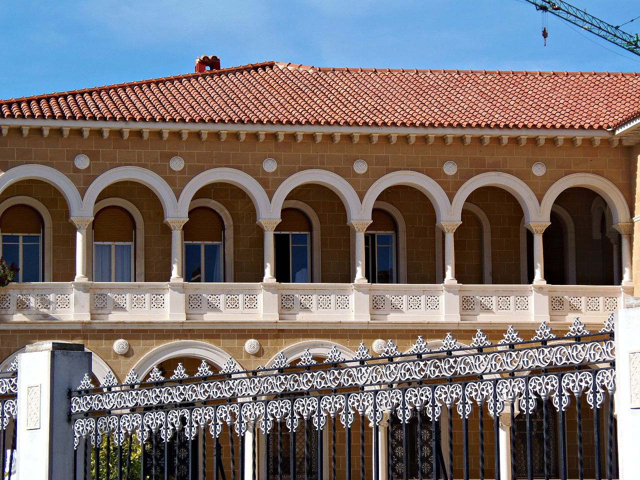 Дворец Архиепископа в Никосии, галерея
