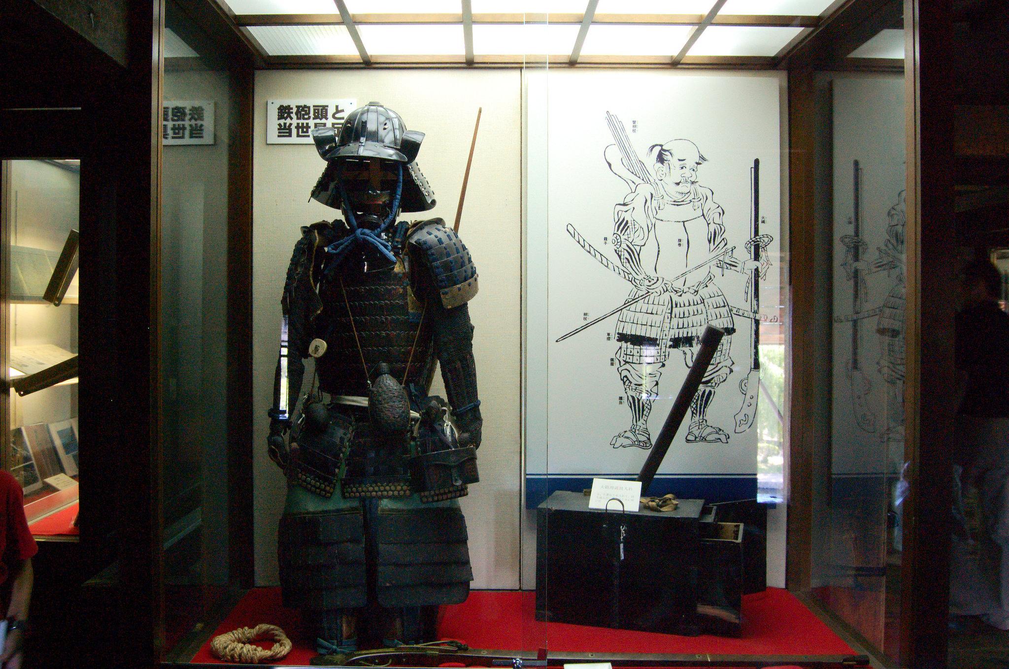 Обмундирование японского воина, Замок Мацумото
