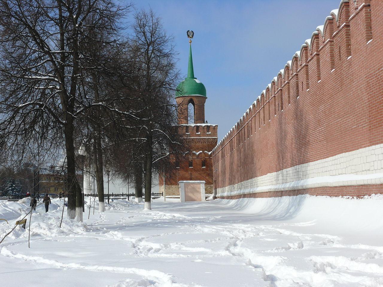 Одоевская башня Тульского кремля